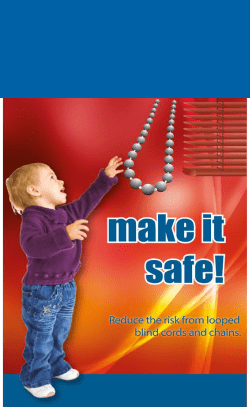 Window Blinds Safty