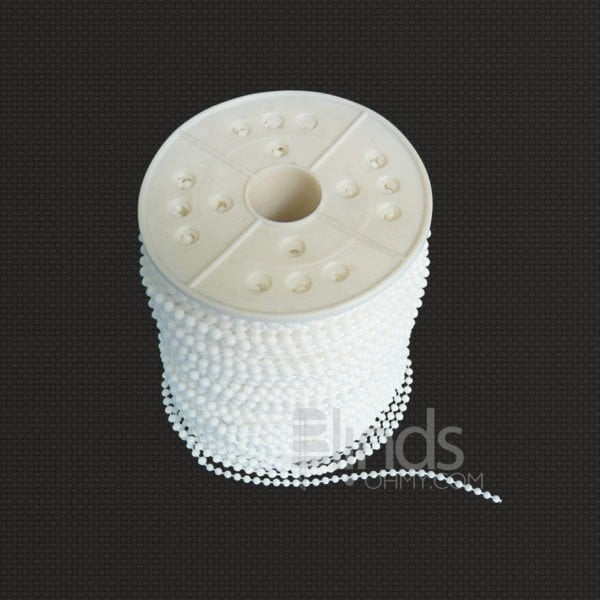 Roller and Roman Shade Blind Beaded Chain Cord for Blinds Replacement Repair Parts