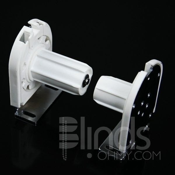 Roller Shade Bracket,Roller Blind Shade U Shape Metal Core Clutch Bracket