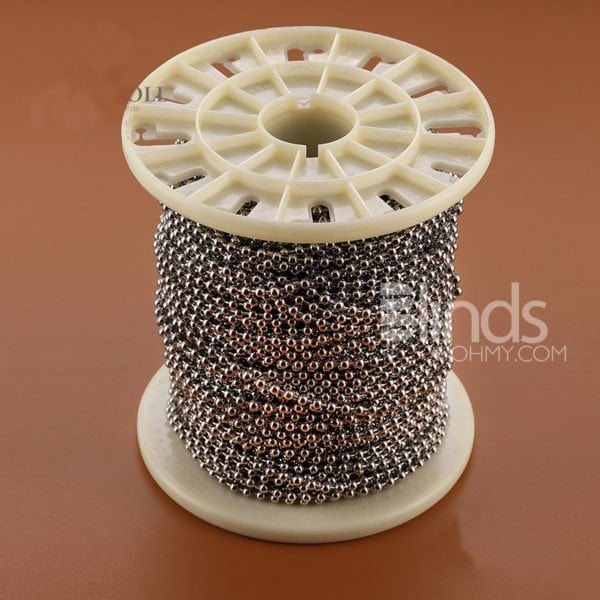 Stainless Steel beaded chain-for-the-roller-blind-components