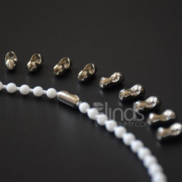 Roller Blind Stainless Steel Beaded Ball Chain Replacement Repair Fitting Parts