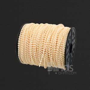 Off-white roller blind bead chain roller shades